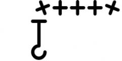 HookinCrochet Symbols 2 Font Software Font OTHER CHARS