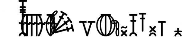 HookinCrochet Symbols 2 Font Software Font UPPERCASE