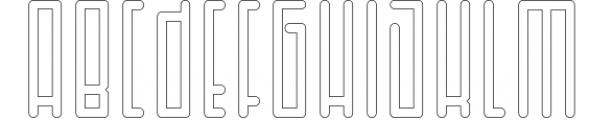 Horus - Font Family 1 Font UPPERCASE