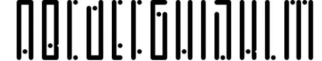 Horus - Font Family 3 Font UPPERCASE