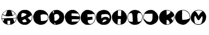 HOAAEMMM Font UPPERCASE
