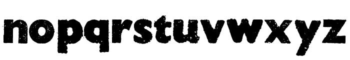 HOCUS FOCUS Bold Font LOWERCASE