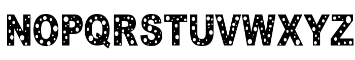 HOLE Font UPPERCASE