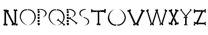 HONEBONE Ukokkei Font UPPERCASE