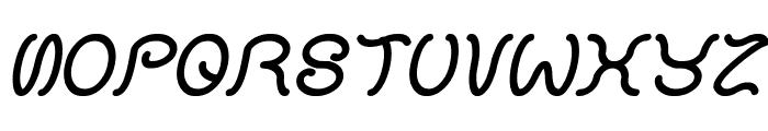 HONESTLY Italic Font UPPERCASE