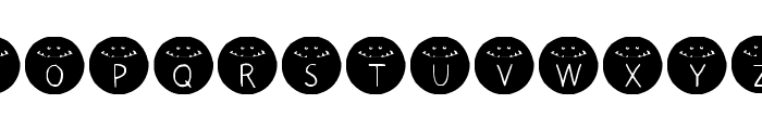 HONKUS CONKUS Medium Font UPPERCASE