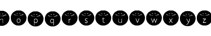HONKUS CONKUS Medium Font LOWERCASE