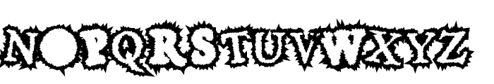 HoaryGaut Font UPPERCASE
