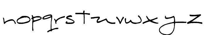Hobbes Font LOWERCASE