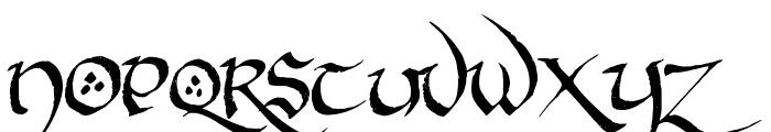 Hobbiton BrushhandHobbiton brush Font UPPERCASE
