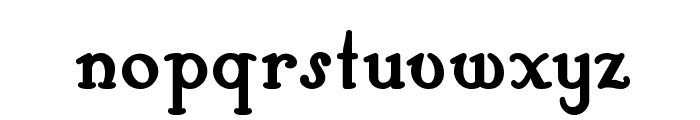 Hobby Horse NF Font LOWERCASE