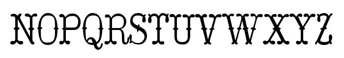Hoedown Font LOWERCASE