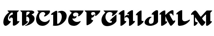 Hoffman Font UPPERCASE