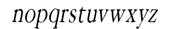 HoffmanFL-Oblique Font LOWERCASE