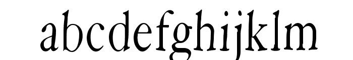 HoffmanFL Font LOWERCASE