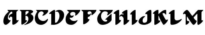 Hoffman Font LOWERCASE