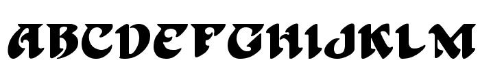 Hoffmann Regular Font LOWERCASE