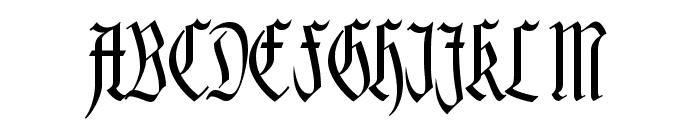 Hofstaetten Font UPPERCASE