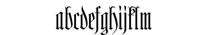 Hofstaetten Font LOWERCASE