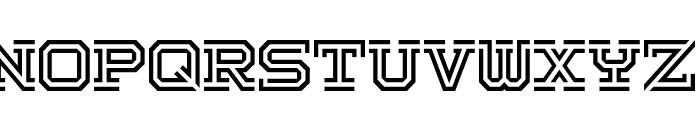 Hokjesgeest Font UPPERCASE