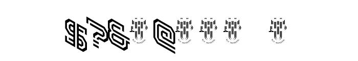 Hokjesgeestcube Font OTHER CHARS