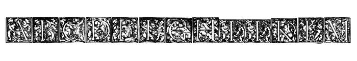 HolbeinChildrens Font UPPERCASE