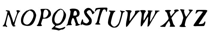 HoldMeClose Font UPPERCASE