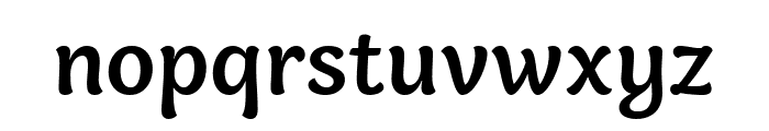Holden Trial Medium Font LOWERCASE