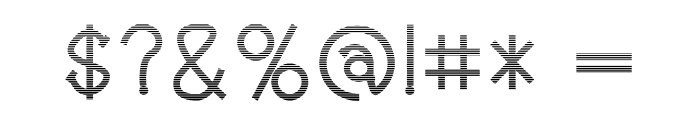 Holea Gradient Font OTHER CHARS