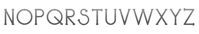 Holea Gradient Font UPPERCASE