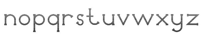 Holea Gradient Font LOWERCASE