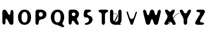 Holier Font UPPERCASE