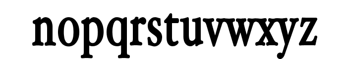 HollaMediaeval-Bold Font LOWERCASE