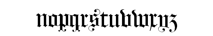 HollandMorlaeu Regular Font LOWERCASE