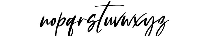 Hollanda Font LOWERCASE