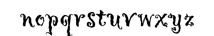 Hollyweird LET Plain:1.0 Font LOWERCASE