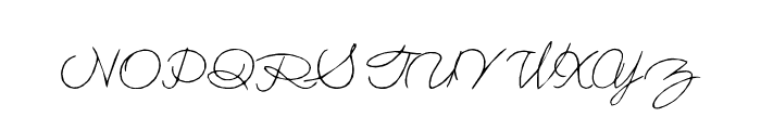 Holmes001 Font UPPERCASE