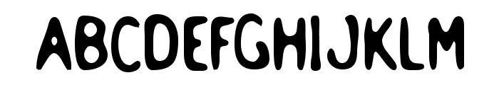 Holstein Bold Font UPPERCASE