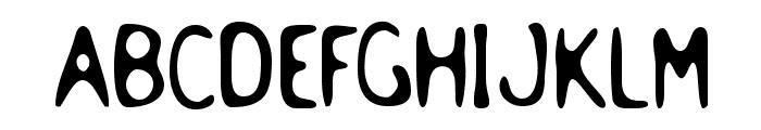 Holstein Font UPPERCASE