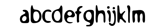 Holstein Font LOWERCASE