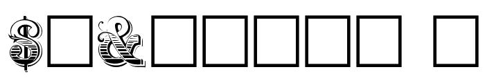 Holtzschue Plain Font OTHER CHARS
