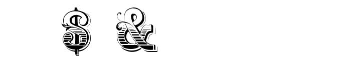 Holtzschue Regular Font OTHER CHARS