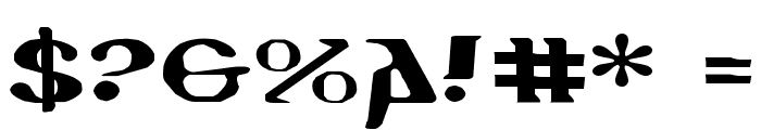 Holy Empire Expanded Font OTHER CHARS