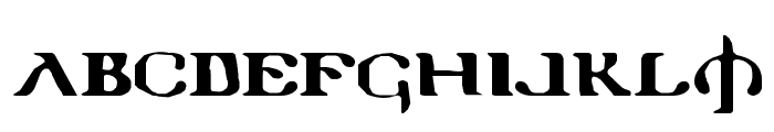 Holy Empire Expanded Font UPPERCASE