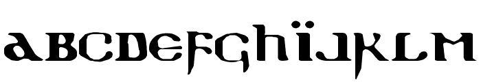 Holy Empire Expanded Font LOWERCASE