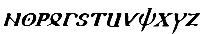 Holy Empire Italic Font UPPERCASE