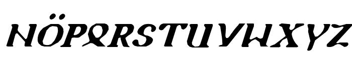 Holy Empire Italic Font LOWERCASE