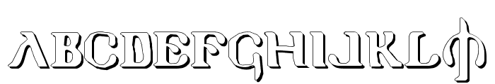 Holy Empire Shadow Font UPPERCASE