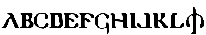 Holy Empire Font UPPERCASE