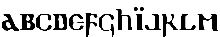 Holy Empire Font LOWERCASE